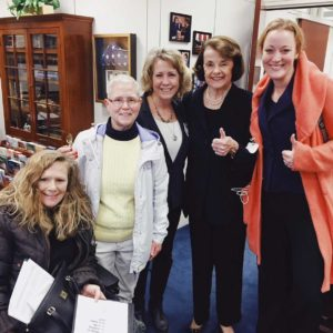 Meeting with Dianne Feinstein